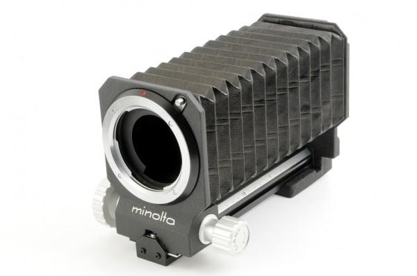 【極美品】Minolta BELLOWS III For ミノルタ SR/MC/MDマウント 接写、スライドのコピーなどに 蛇腹 ベローズ #3036_Minolta SRマウント用