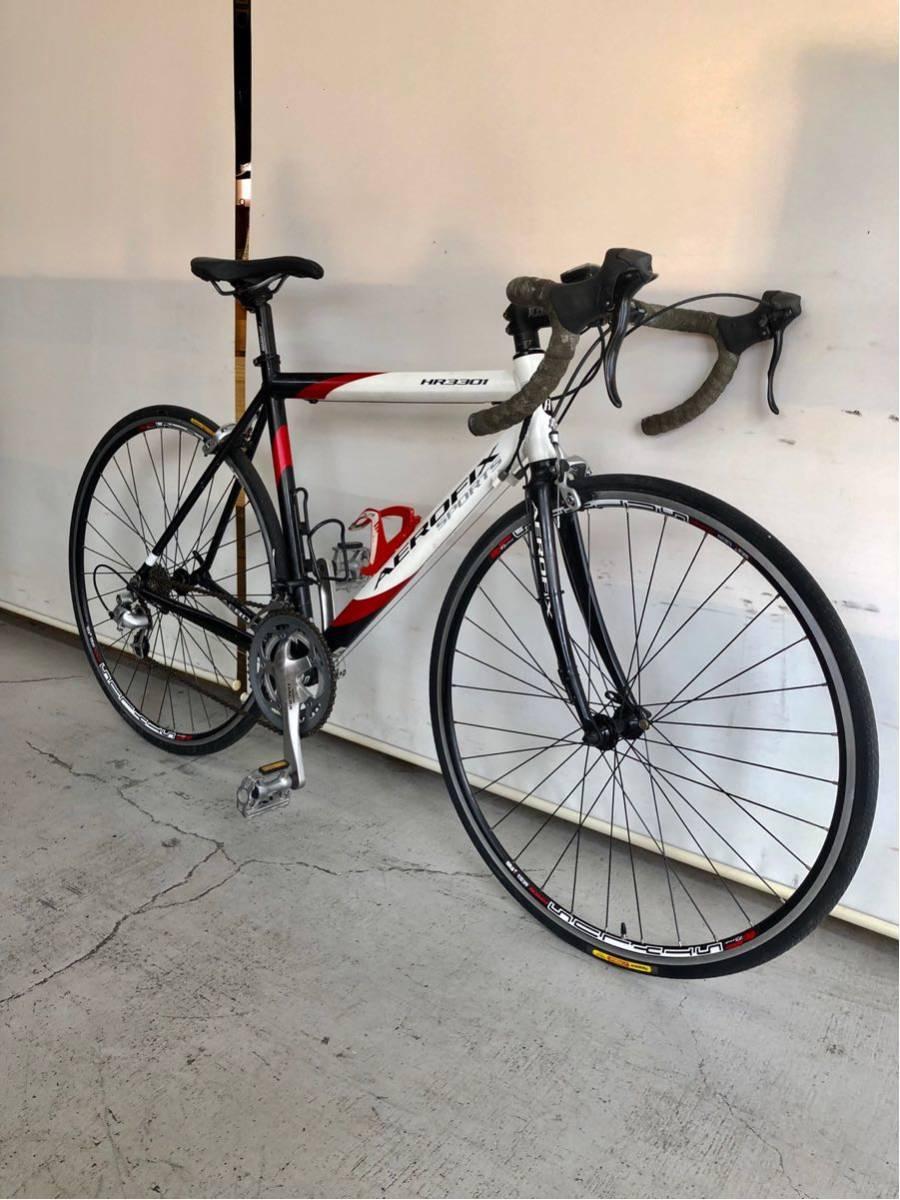 514 AEROFIX エアロフィックス HR3301 シマノ ソラ ロードバイク 中古