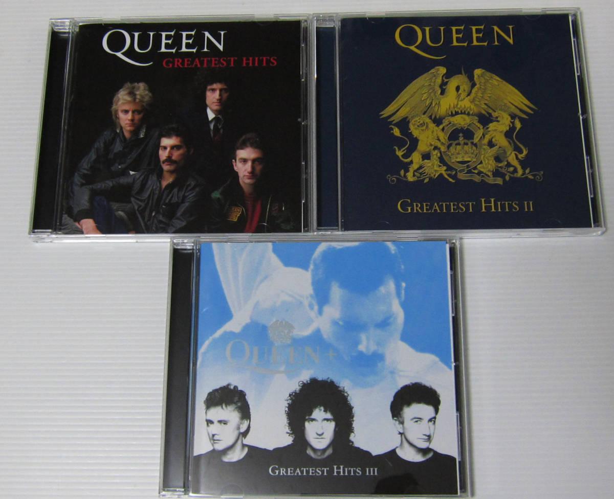 *QUEEN クイーン CD グレイテスト ヒッツ1.2.3 GREATEST HITS THE PLATINUM COLLECTION/SHM-CD 3枚組/国内盤帯付/フレディ・マーキュリー_画像4