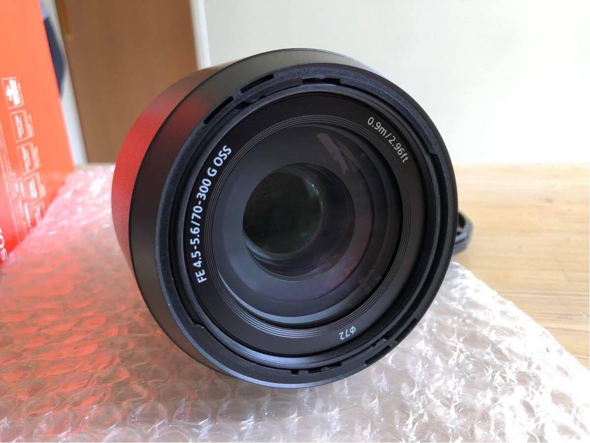 ♪ほぼ新品!SONY FE 70-300mm F4.5-5.6 G OSS SEL70300G オマケ付_画像2