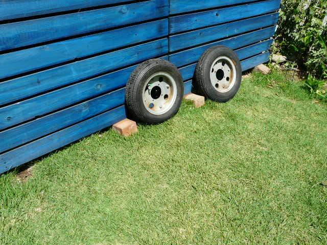 【これは、ゴミかオブジェです】 ホンダ・モンキー・ゴリラ  8 インチ ホイール・タイヤ 前後セット_画像7