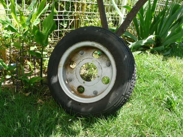 【これは、ゴミかオブジェです】 ホンダ・モンキー・ゴリラ  8 インチ ホイール・タイヤ 前後セット_画像5