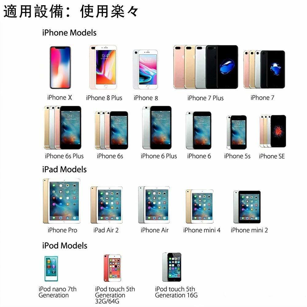 [新品]iPhone 3.5mmイヤホンジャック変換アダプタ iPhoneXs/Xs max/Xr/8/8plus/7/7plus(IOS11、12対応) 音楽再生用 通話不可_画像7