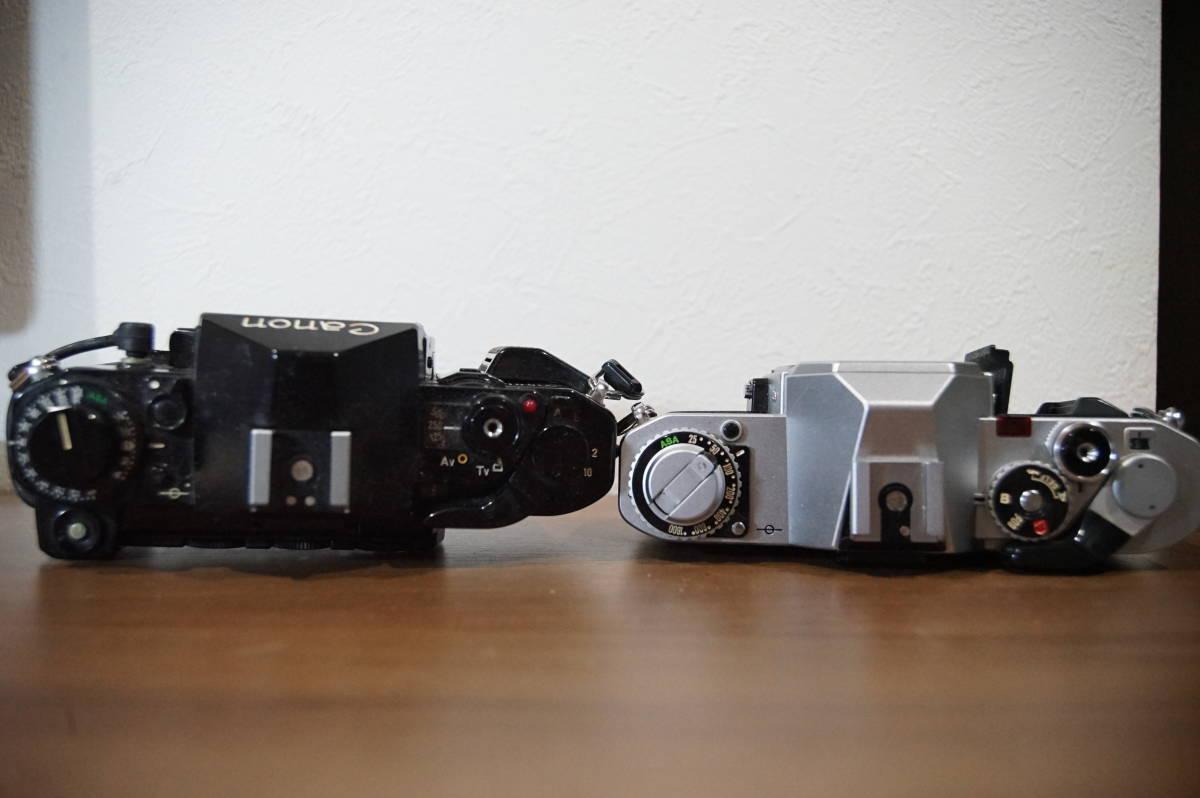 キヤノン Canon A-1 AV-1 フィルムカメラ 中古 動作未確認 ジャンク 1円スタート_画像3