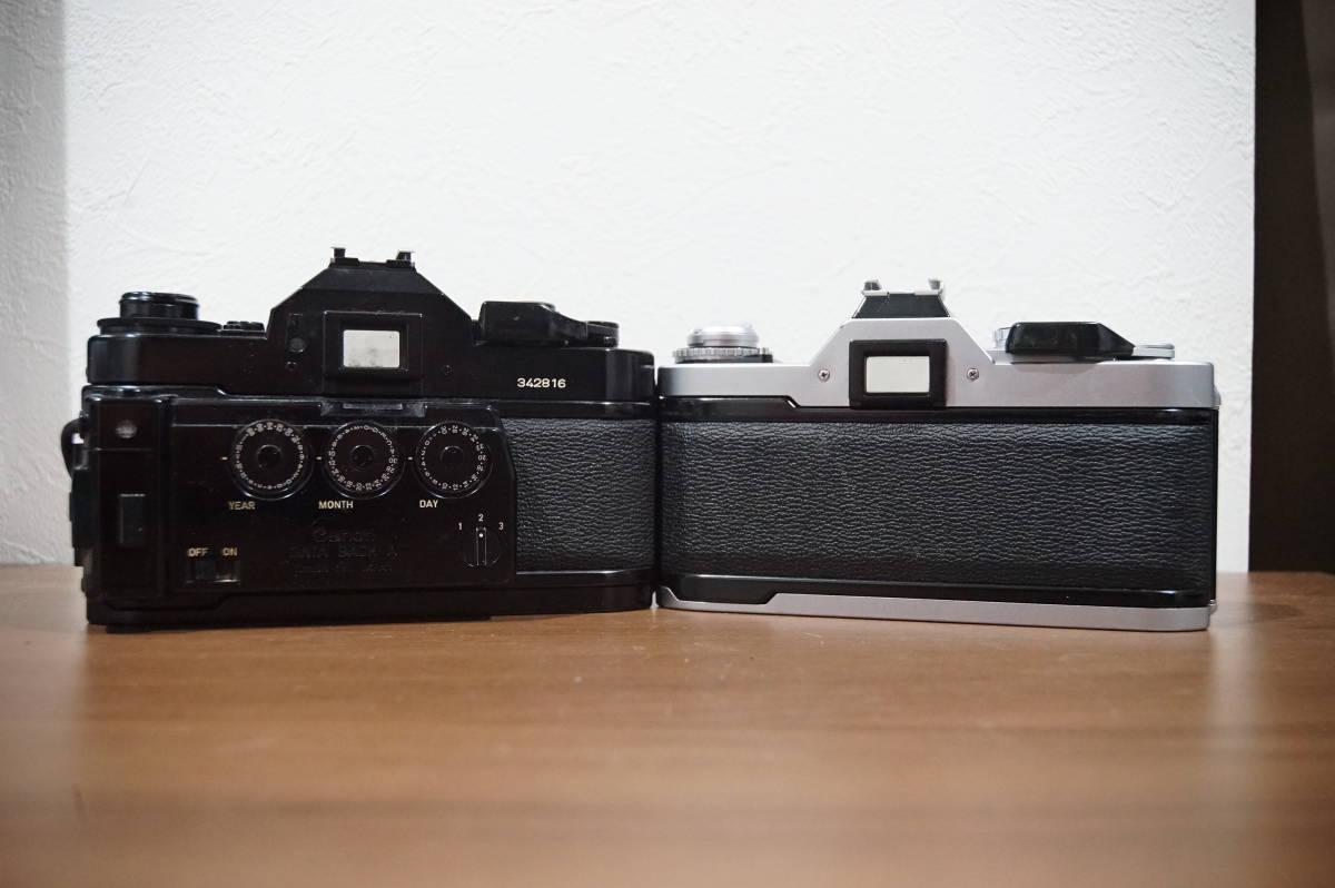 キヤノン Canon A-1 AV-1 フィルムカメラ 中古 動作未確認 ジャンク 1円スタート_画像2