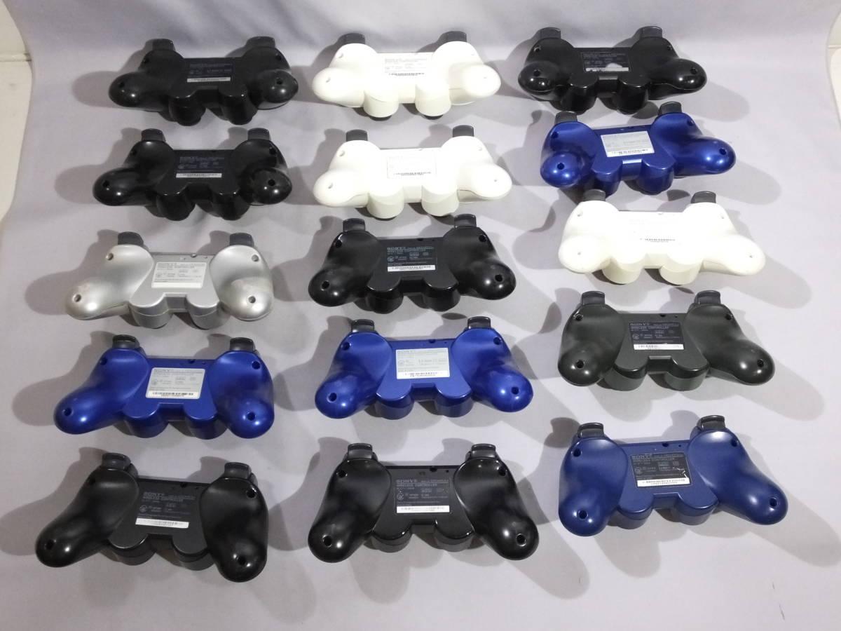 24_T614)送料無料 ジャンク PS3 プレイステーション3用純正コントローラー デュアルショック3 30個セット ジャンク_画像2