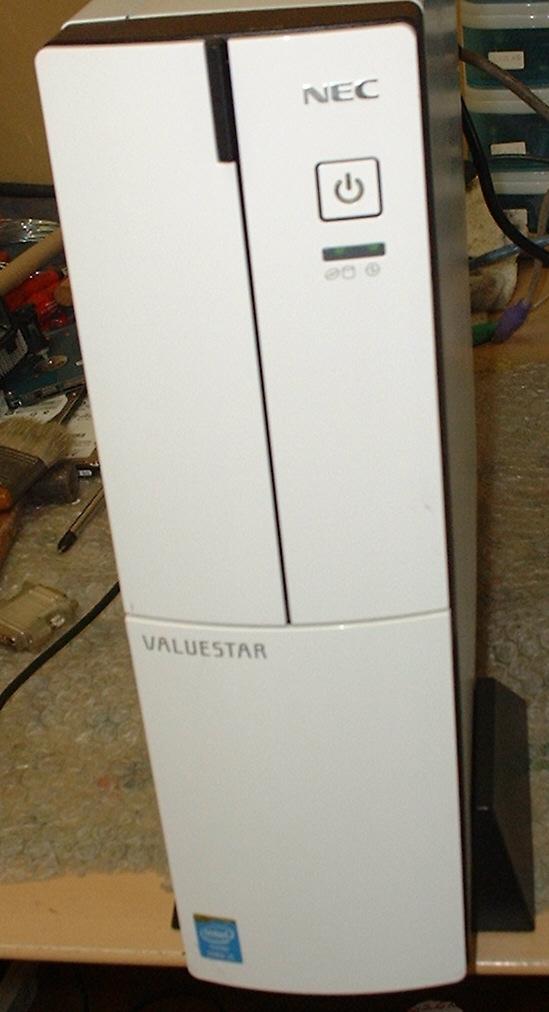 第4世代機 NEC VALUESTAR Core I5-4590/8GB Disk 500GB DVD-RW_画像1