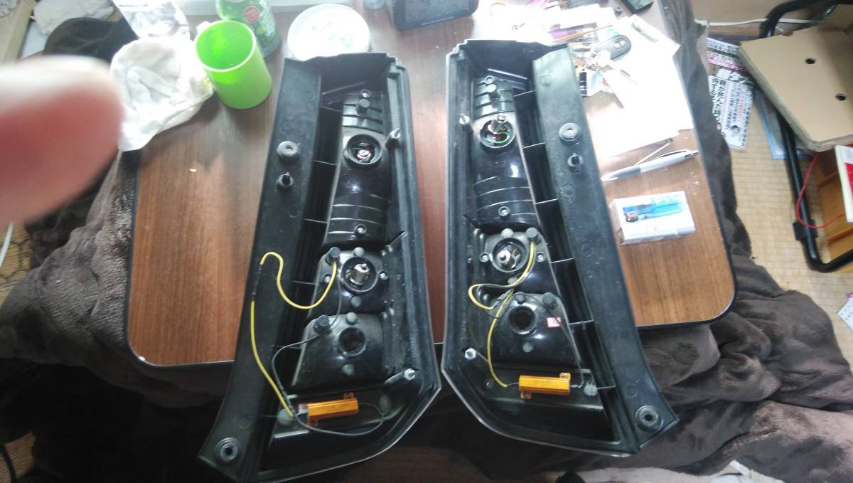 MH23sワゴンr社外品テールライト_画像5