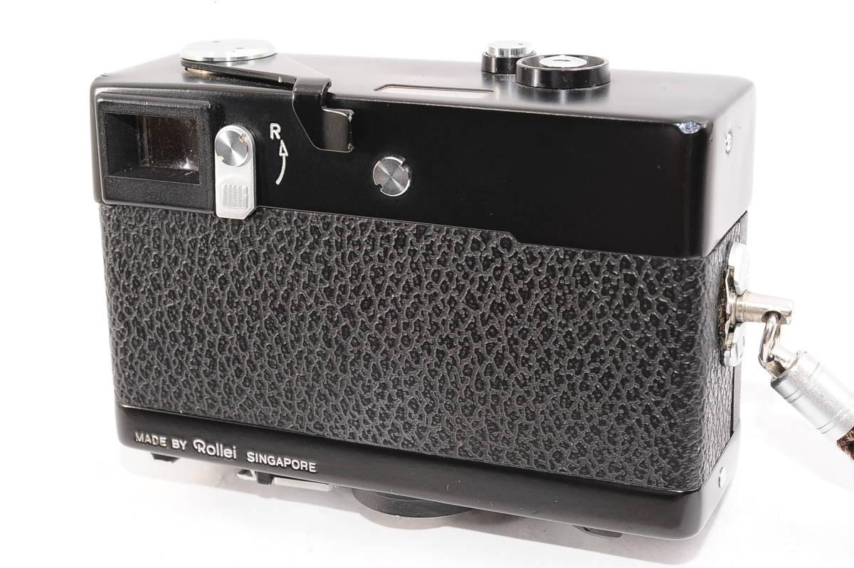 【美品】 ローライ Rollei 35S ゾナー 40mm F2.8 - ブラック レンジファインダーカメラ + ストラップ付 [2453991]_画像2