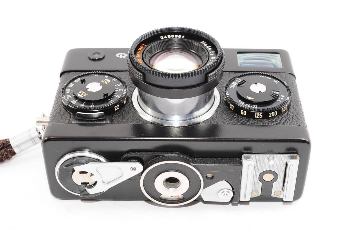 【美品】 ローライ Rollei 35S ゾナー 40mm F2.8 - ブラック レンジファインダーカメラ + ストラップ付 [2453991]_画像4