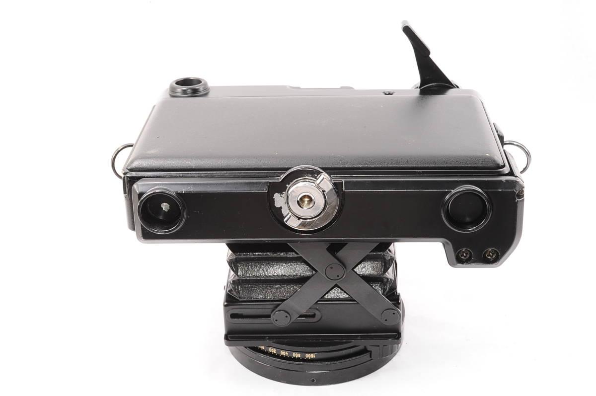 【希少品】 プラウベル マキナ PLAUBEL makina 67 ニッコール NIKKOR 80mm F2.8 グリップ付き 中判 蛇腹 カメラ [508548]_画像4