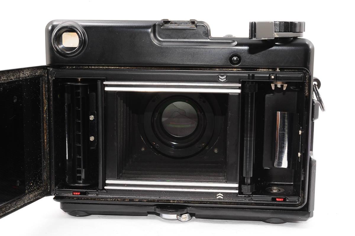 【希少品】 プラウベル マキナ PLAUBEL makina 67 ニッコール NIKKOR 80mm F2.8 グリップ付き 中判 蛇腹 カメラ [508548]_画像3