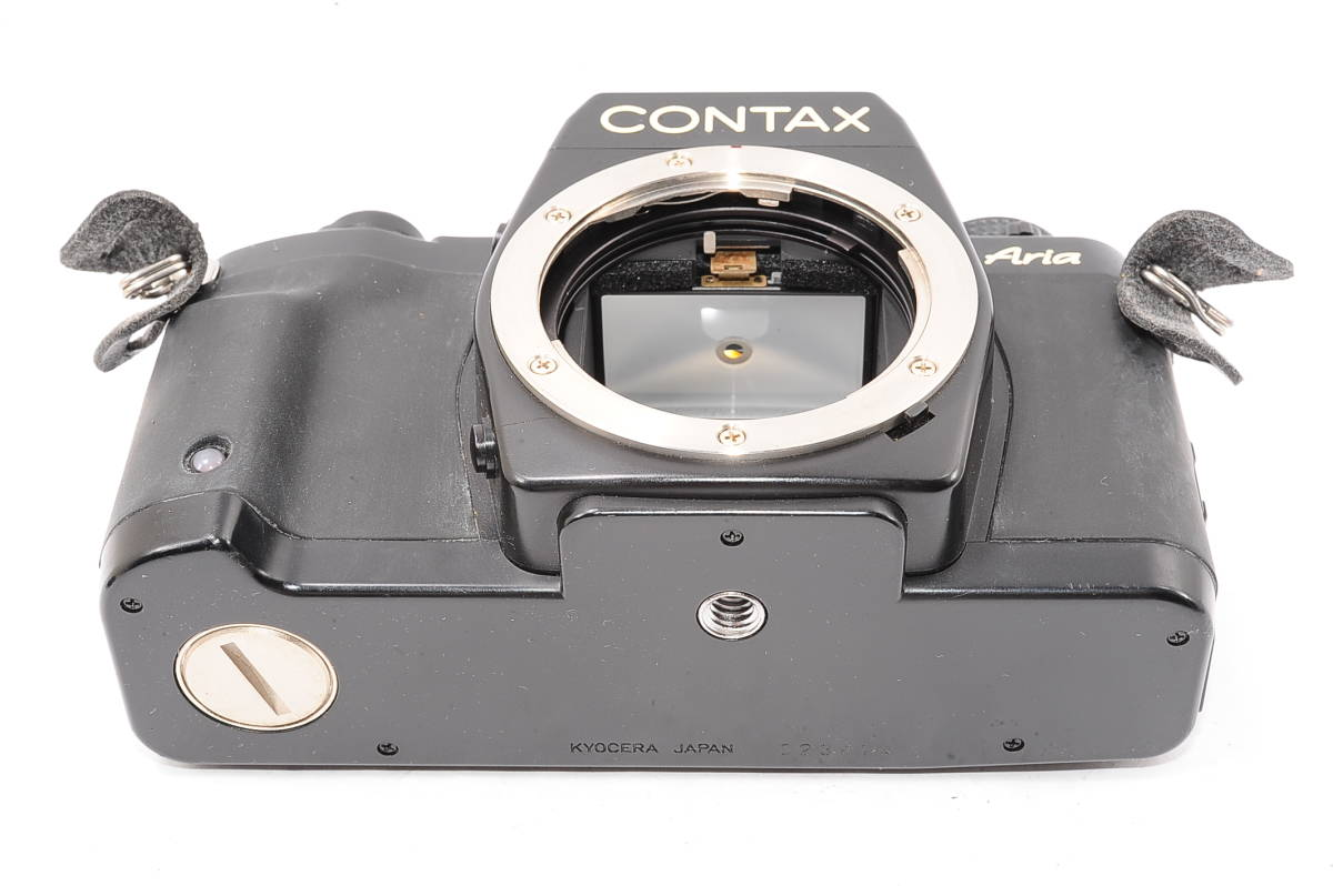 【極上品】 コンタックス アリア CONTAX Aria ボディ - マニュアルフォーカス / MF一眼レフ カメラ [023414]_画像4