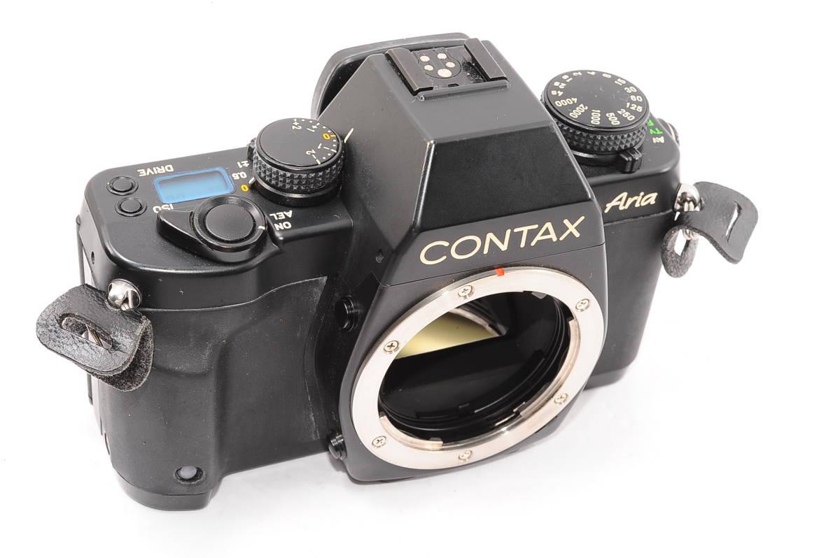 【極上品】 コンタックス アリア CONTAX Aria ボディ - マニュアルフォーカス / MF一眼レフ カメラ [023414]_画像5