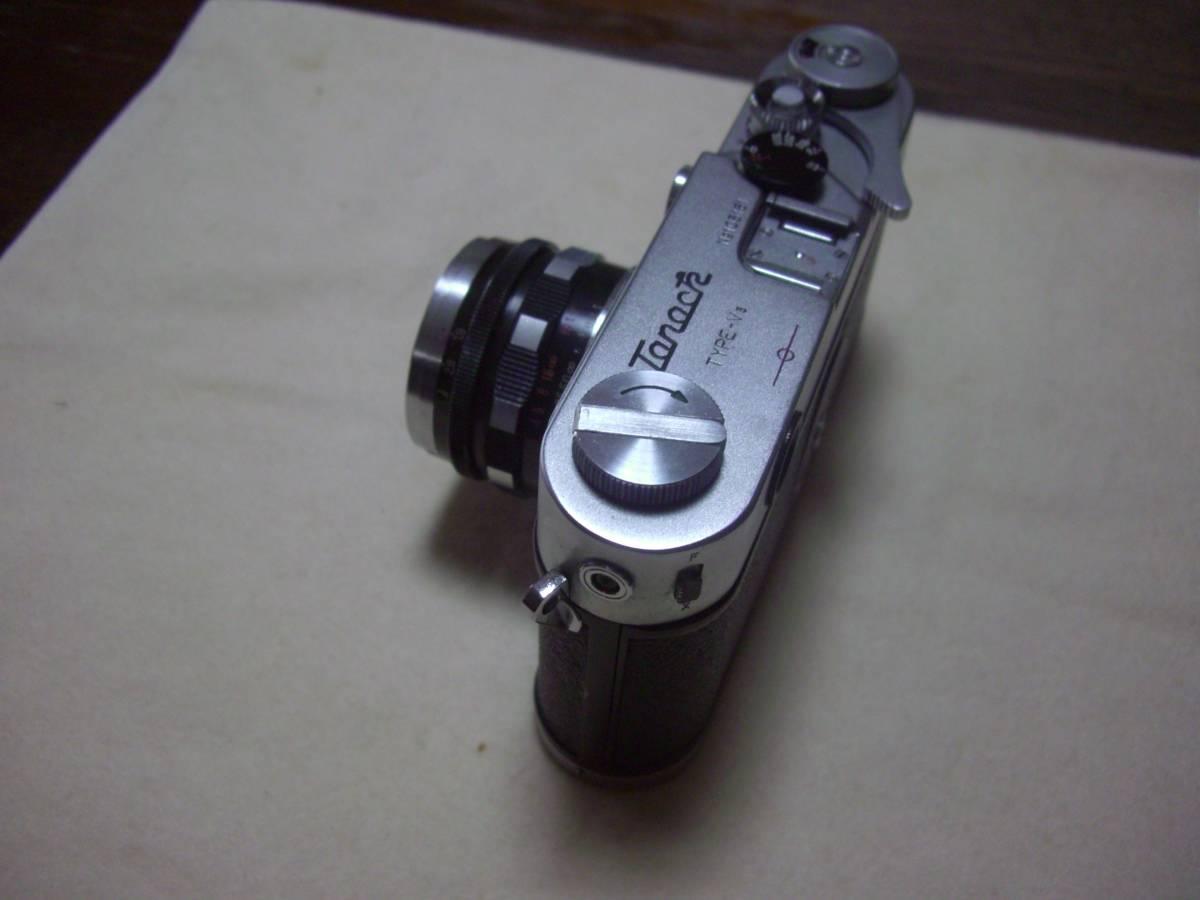 田中光学 タナック V3 TANACK TYPE - V3 + TANAR 5cm f1.9 50mm f1.9 ライカ L39 マウント_画像4