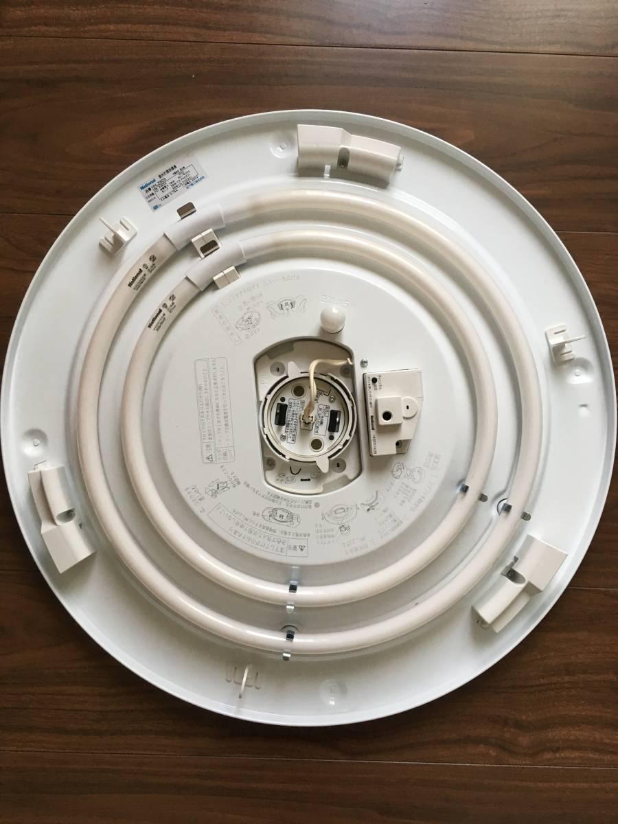 【送料無料】(割れあり) 蛍光灯スリムシーリングライト38W+48W(6-10畳)ナショナルHHLZ503_画像3
