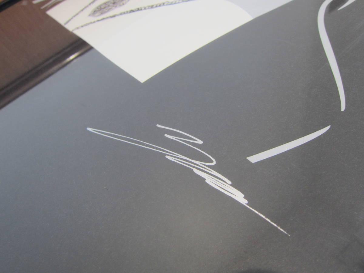X JAPAN YOSHIKI 直筆サイン入り 絵画 コンラッド・リーチ  直筆サイン入り シリアルナンバー15/100 ★C4618_画像2