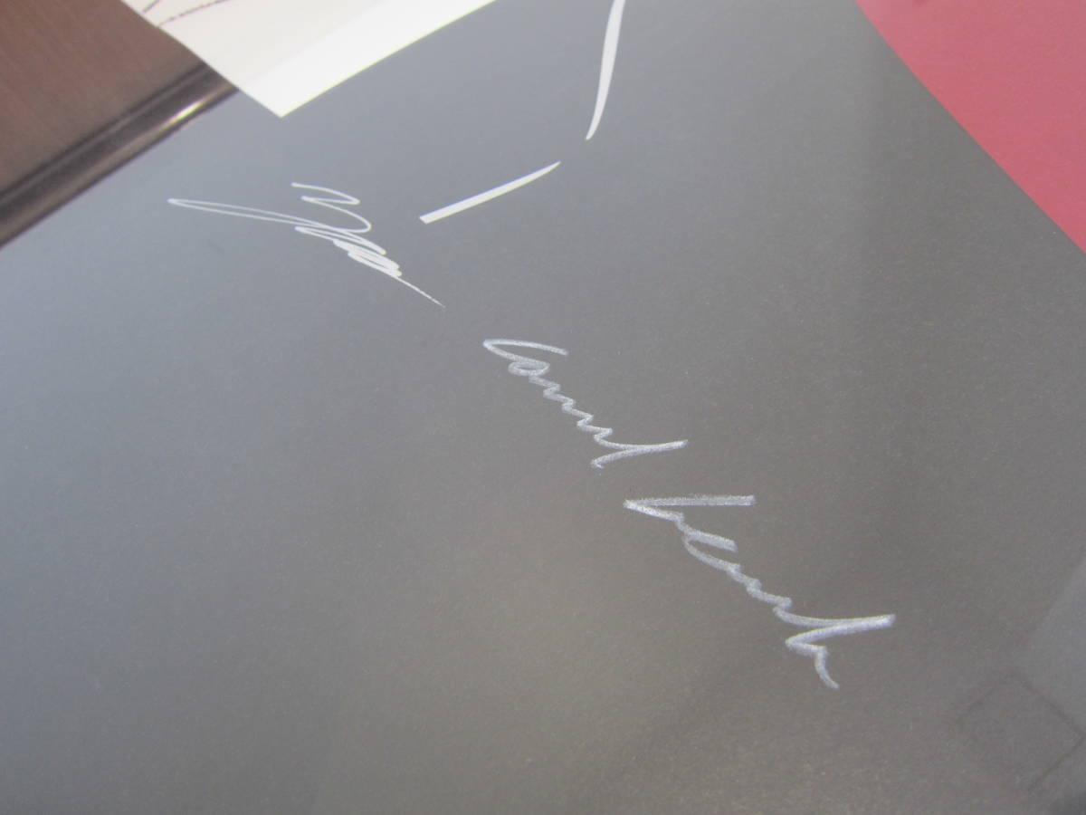 X JAPAN YOSHIKI 直筆サイン入り 絵画 コンラッド・リーチ  直筆サイン入り シリアルナンバー15/100 ★C4618_画像3