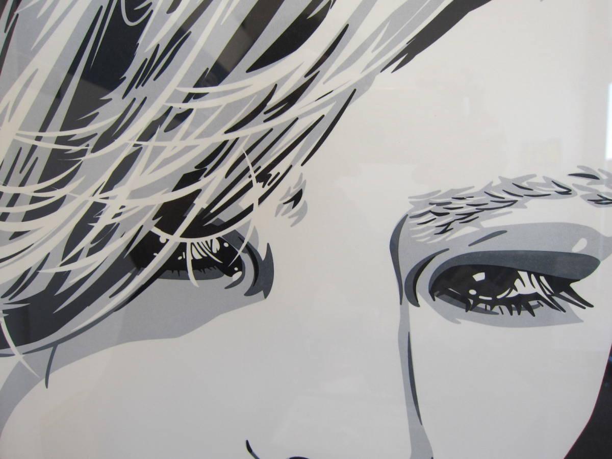 X JAPAN YOSHIKI 直筆サイン入り 絵画 コンラッド・リーチ  直筆サイン入り シリアルナンバー15/100 ★C4618_画像4