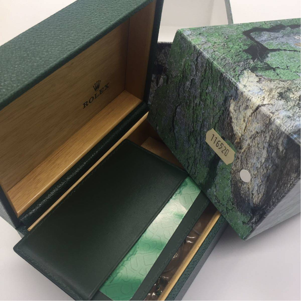 ROLEX DAYTONA REF116520 箱 BOX タグ ギャランティ 付属品 K番_画像4