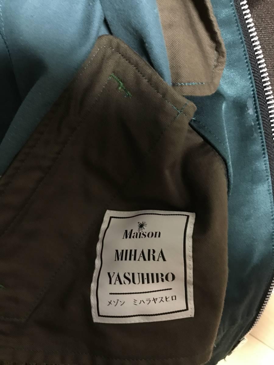 ミハラヤスヒロ テッドマン スカジャン サイズ46 グリーン_画像3