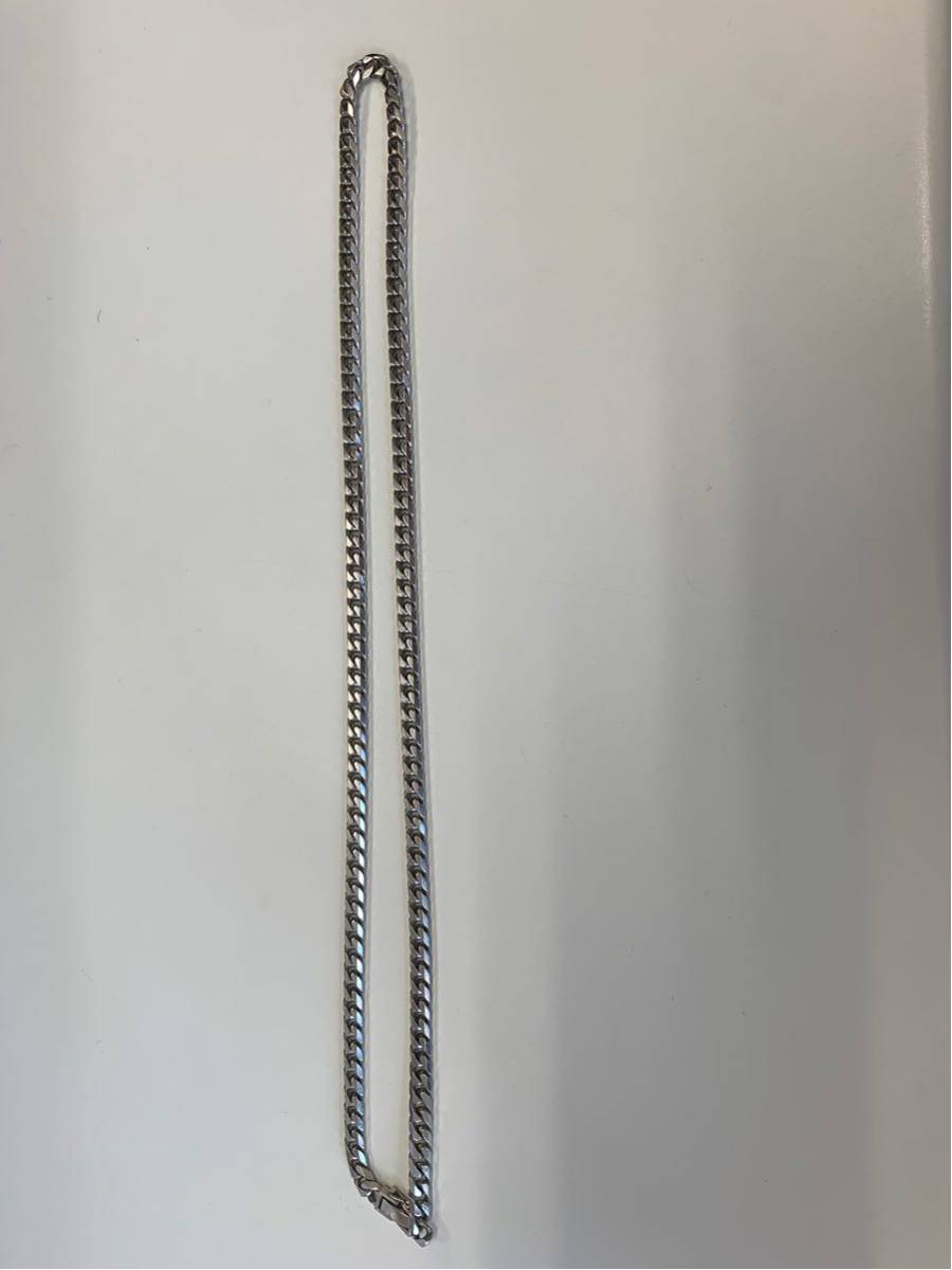 喜平ネックレス 6面 プラチナ pt850 100.8g 60cm_画像2