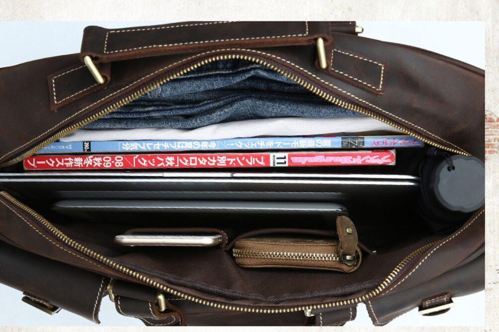 ※最高の贅沢※ *上層牛革100%メンズビジネスバッグ 書類かばん ビジネスバッグ ショルダーバッグ メンズバッグ 鞄_画像6