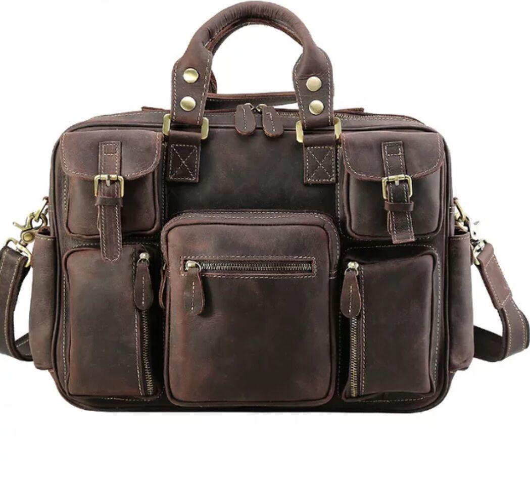 ※最高の贅沢※ *上層牛革100%メンズビジネスバッグ 書類かばん ビジネスバッグ ショルダーバッグ メンズバッグ 鞄