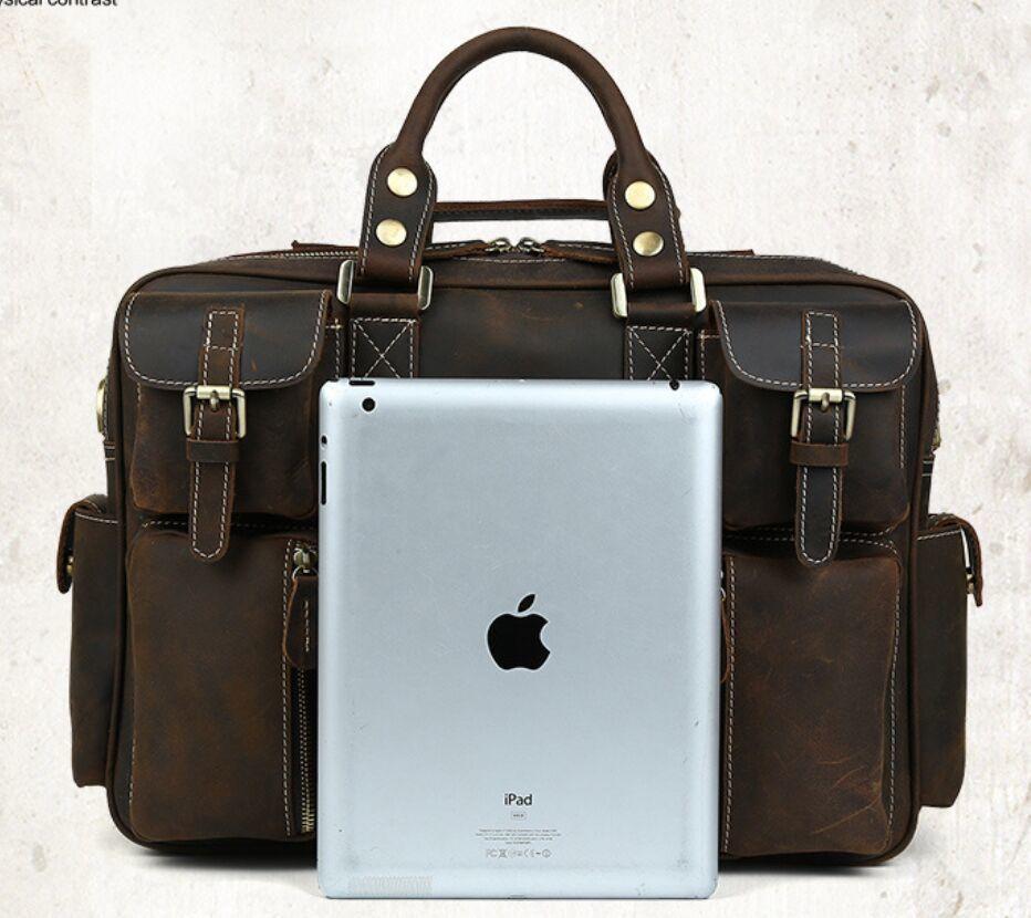※最高の贅沢※ *上層牛革100%メンズビジネスバッグ 書類かばん ビジネスバッグ ショルダーバッグ メンズバッグ 鞄_画像3