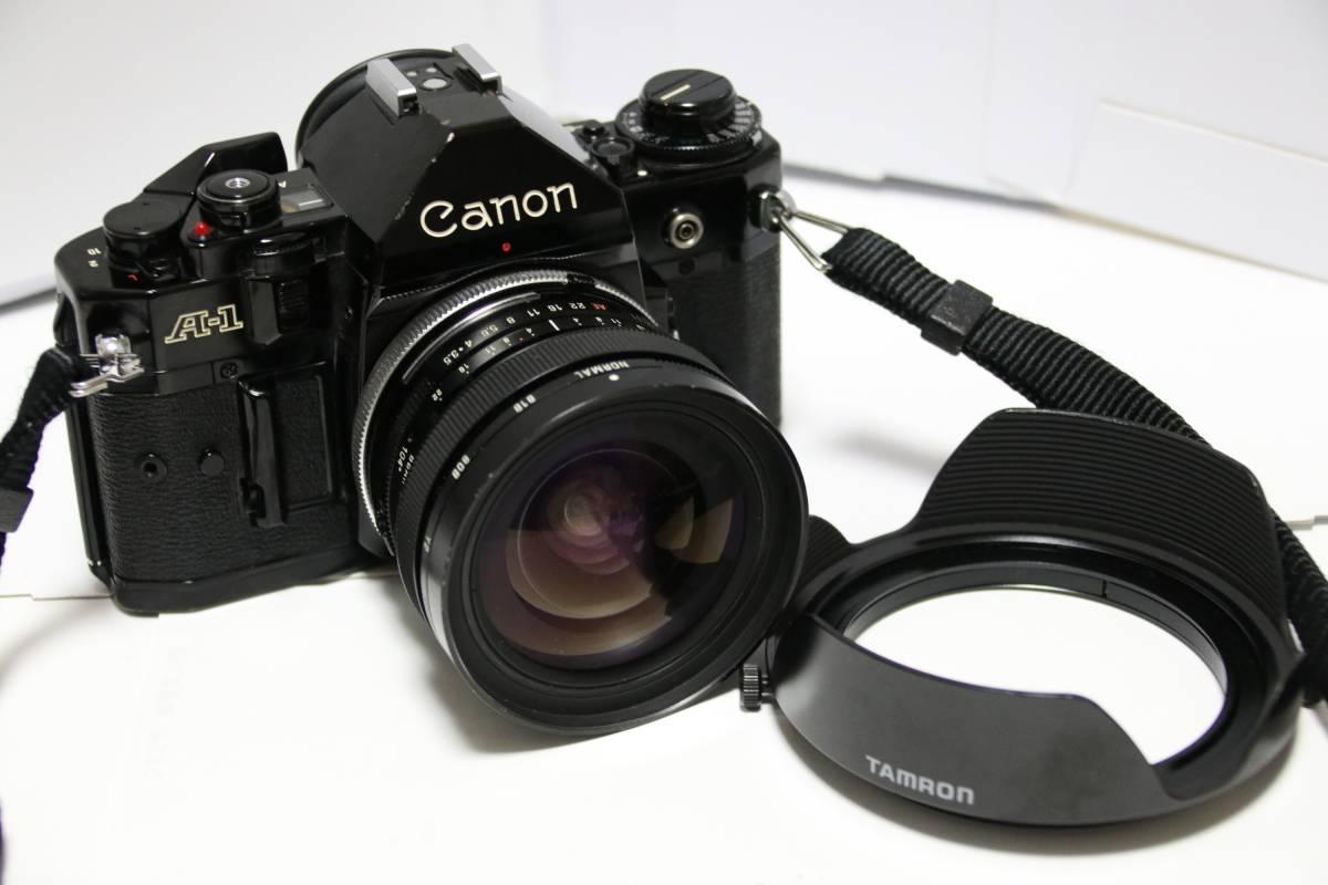 希少☆CANON A-1・TAMRON 17mm SPレンズセット☆キャノン