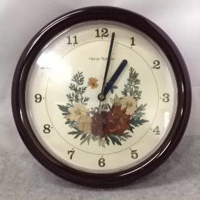 g_t w236 時計 壁掛け時計 「Hana Roman」 クオーツ