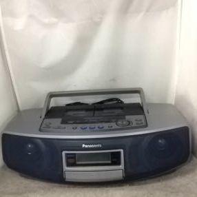 g_t w238 CDラジカセ Panasonic CD Wラジカセ RX-ED-55+電源コード ジャンク品