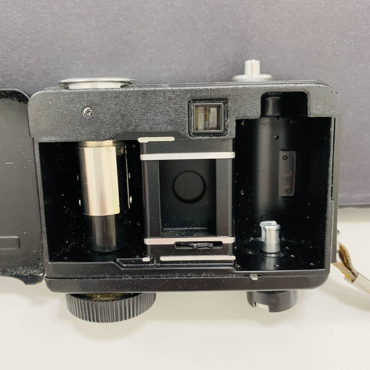 【2954】 RICOH リコー AUTO HALF E F:2.8 f=25mm カメラ 25mm オートハーフ シルバー×イエロー_画像6