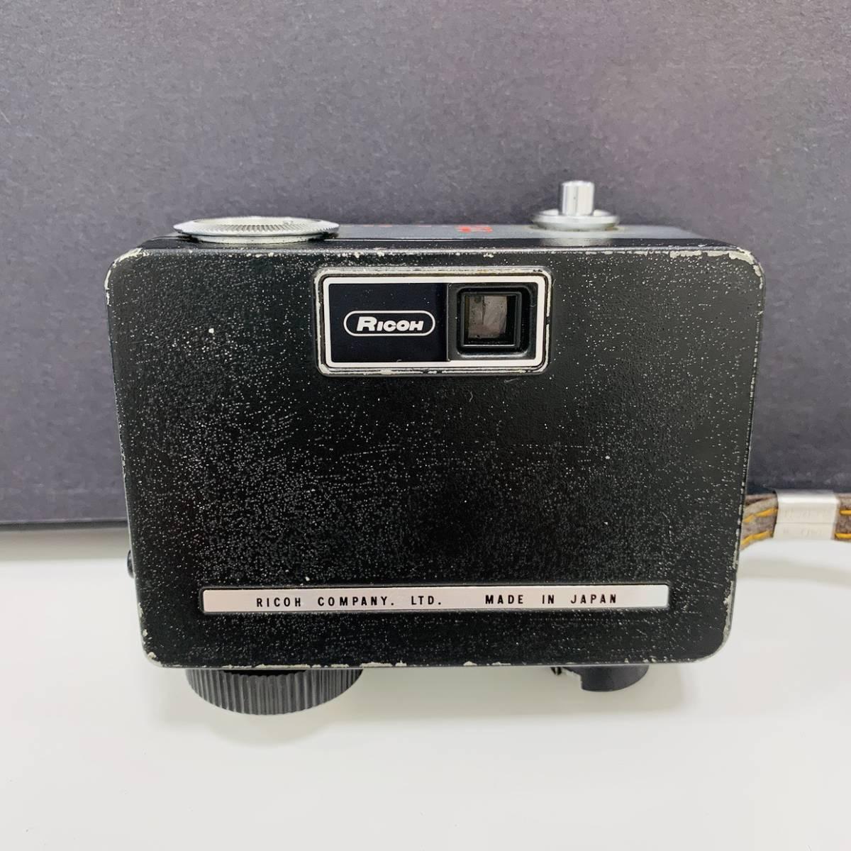 【2954】 RICOH リコー AUTO HALF E F:2.8 f=25mm カメラ 25mm オートハーフ シルバー×イエロー_画像4