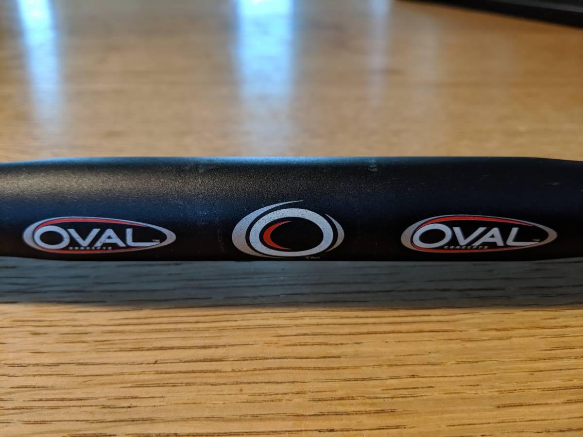 □ OVAL ブルホーン ピスト A700 CAA700T 420mm 12mm Drop 25.9mm《中古》_画像2