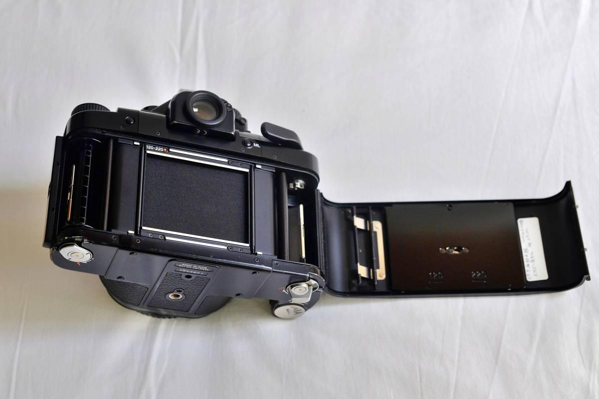 ★美品★程度良 PENTAX  ペンタックス中判 フイルムカメラ 67Ⅱ  標準レンズ3本セット 105mm 55mm 200mm _画像4