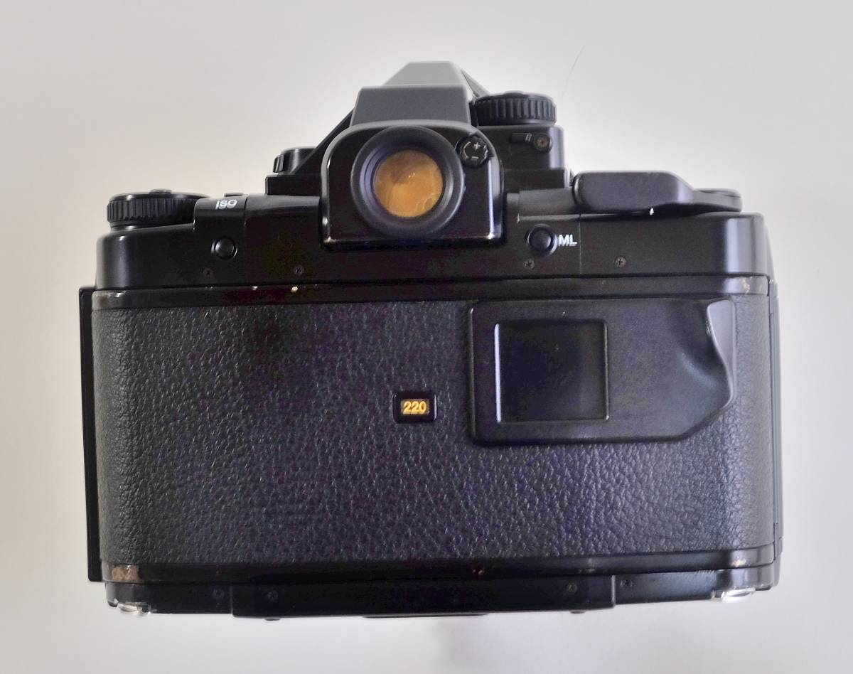 ★美品★程度良 PENTAX  ペンタックス中判 フイルムカメラ 67Ⅱ  標準レンズ3本セット 105mm 55mm 200mm _画像5
