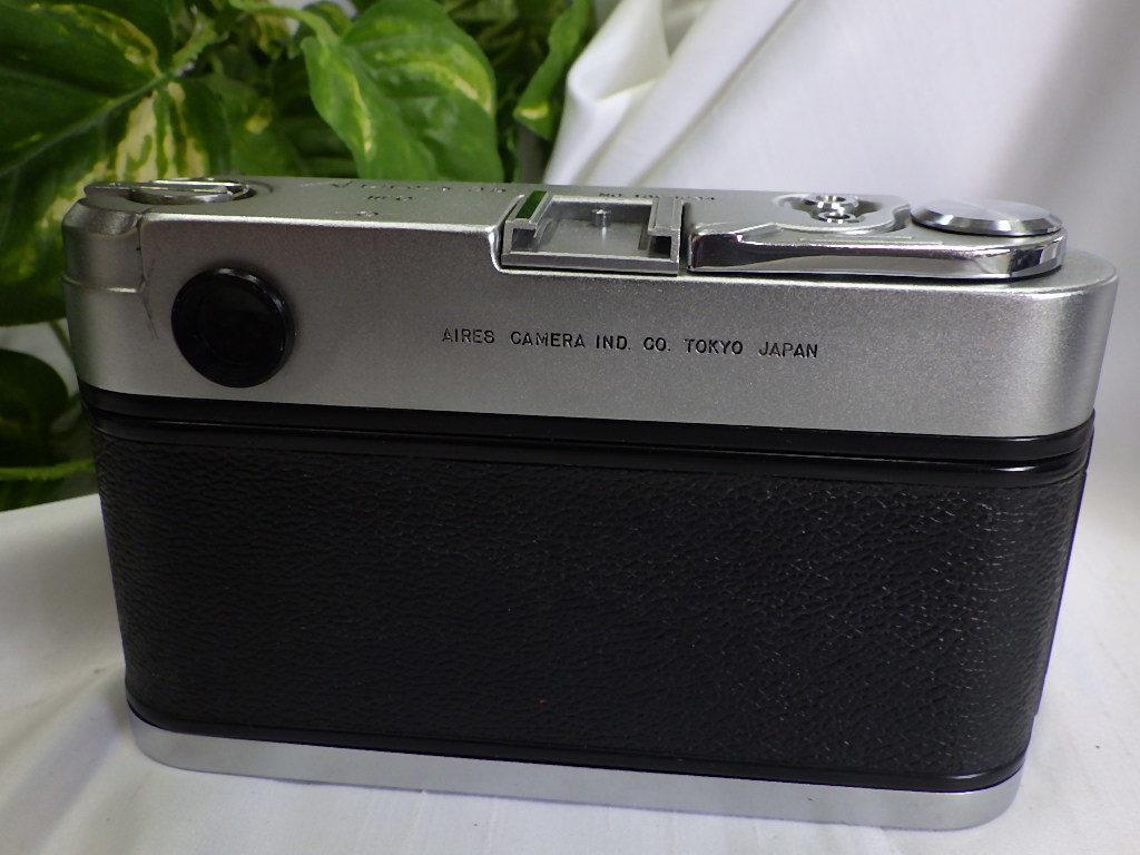 ☆彡AIRES/アイレス 35 ⅢC フィルムカメラ シャッター切れました。☆彡_画像5