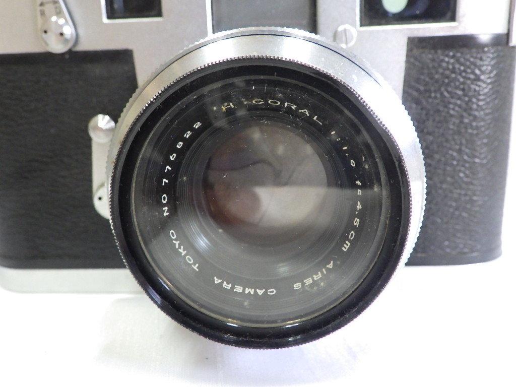 ☆彡AIRES/アイレス 35 ⅢC フィルムカメラ シャッター切れました。☆彡_画像2
