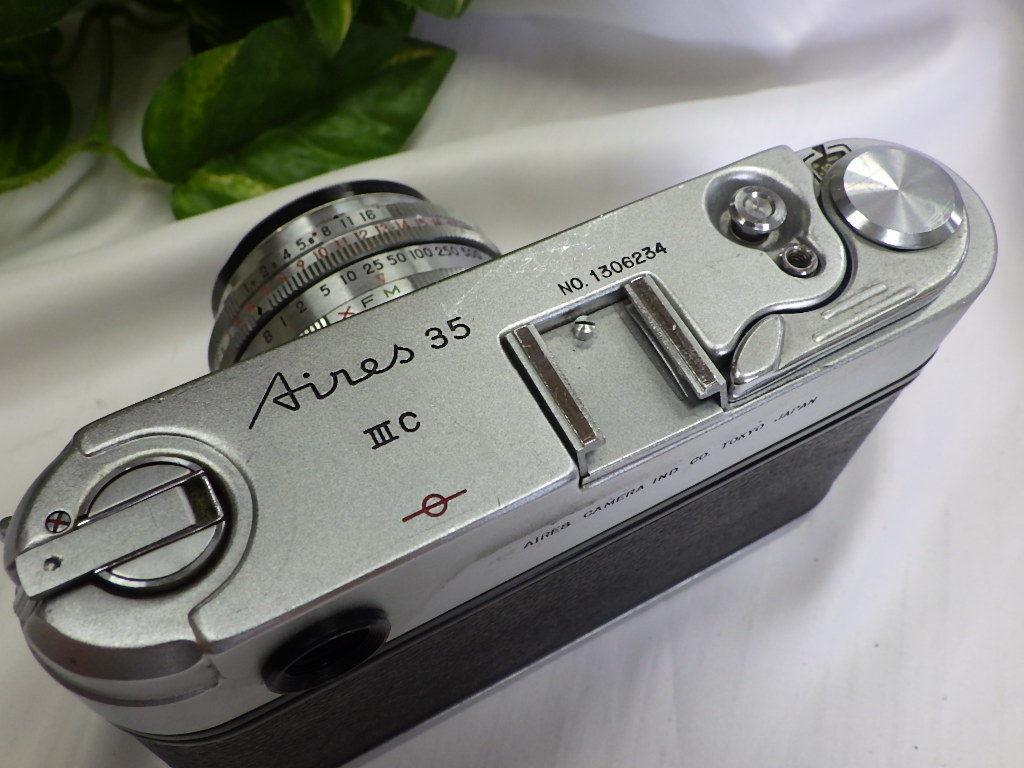 ☆彡AIRES/アイレス 35 ⅢC フィルムカメラ シャッター切れました。☆彡_画像4