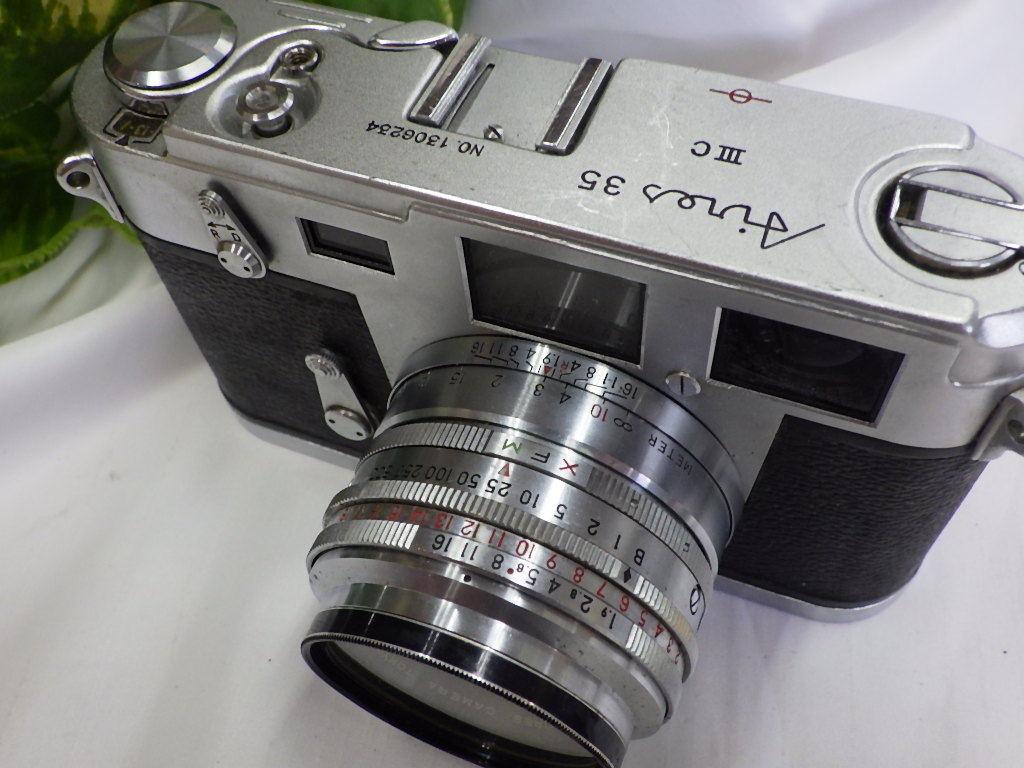 ☆彡AIRES/アイレス 35 ⅢC フィルムカメラ シャッター切れました。☆彡_画像3