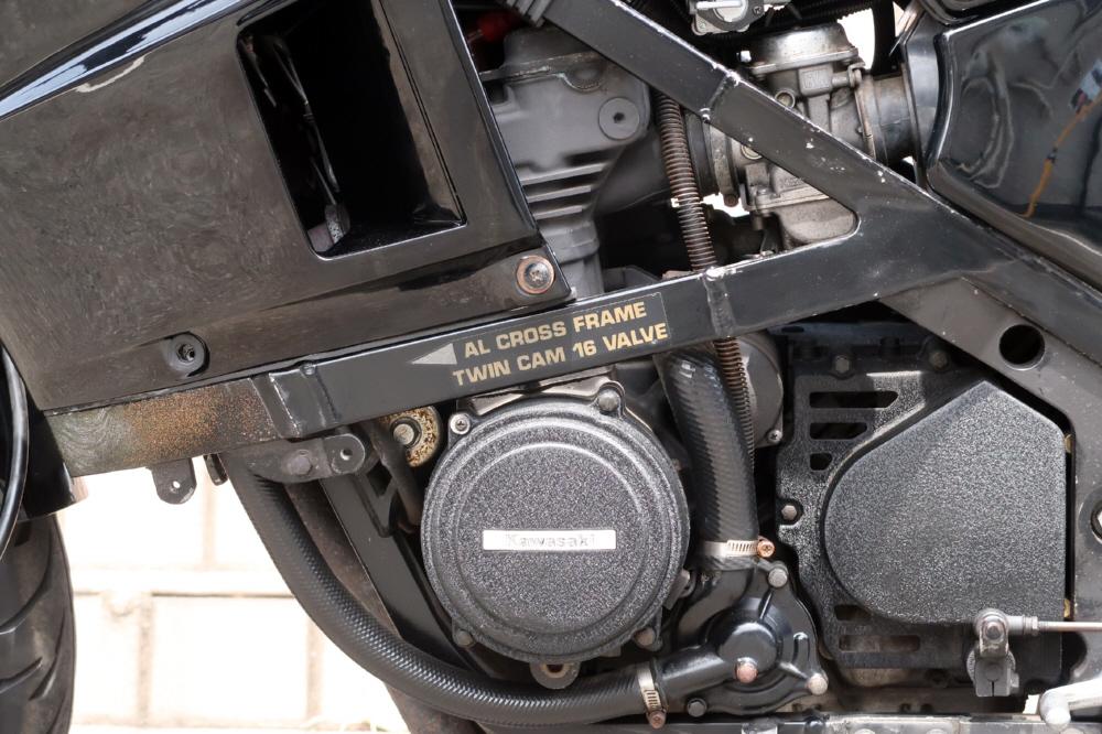 チャンス到来■ GPZ400R ■東京レーシング■バーハン仕様■マフラー改■ETC搭載■美車■希少_画像9