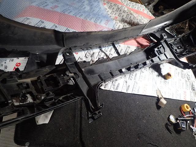 ベンツ Sクラス W221 後期 フロントバンパー ブラック a2218803040_画像7