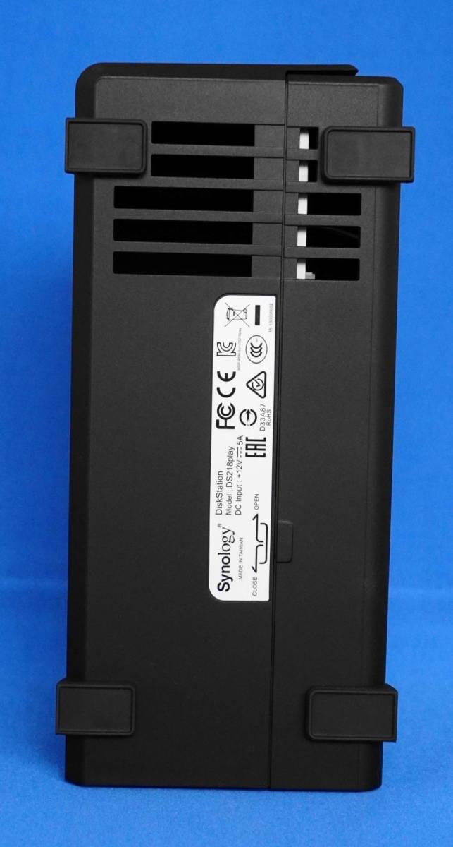 ☆極美品☆Synology DiskStation クアッドコアCPU搭載多機能パーソナルクラウド 2ベイNASキット/ガイドブック付き DS218play/JP_画像7