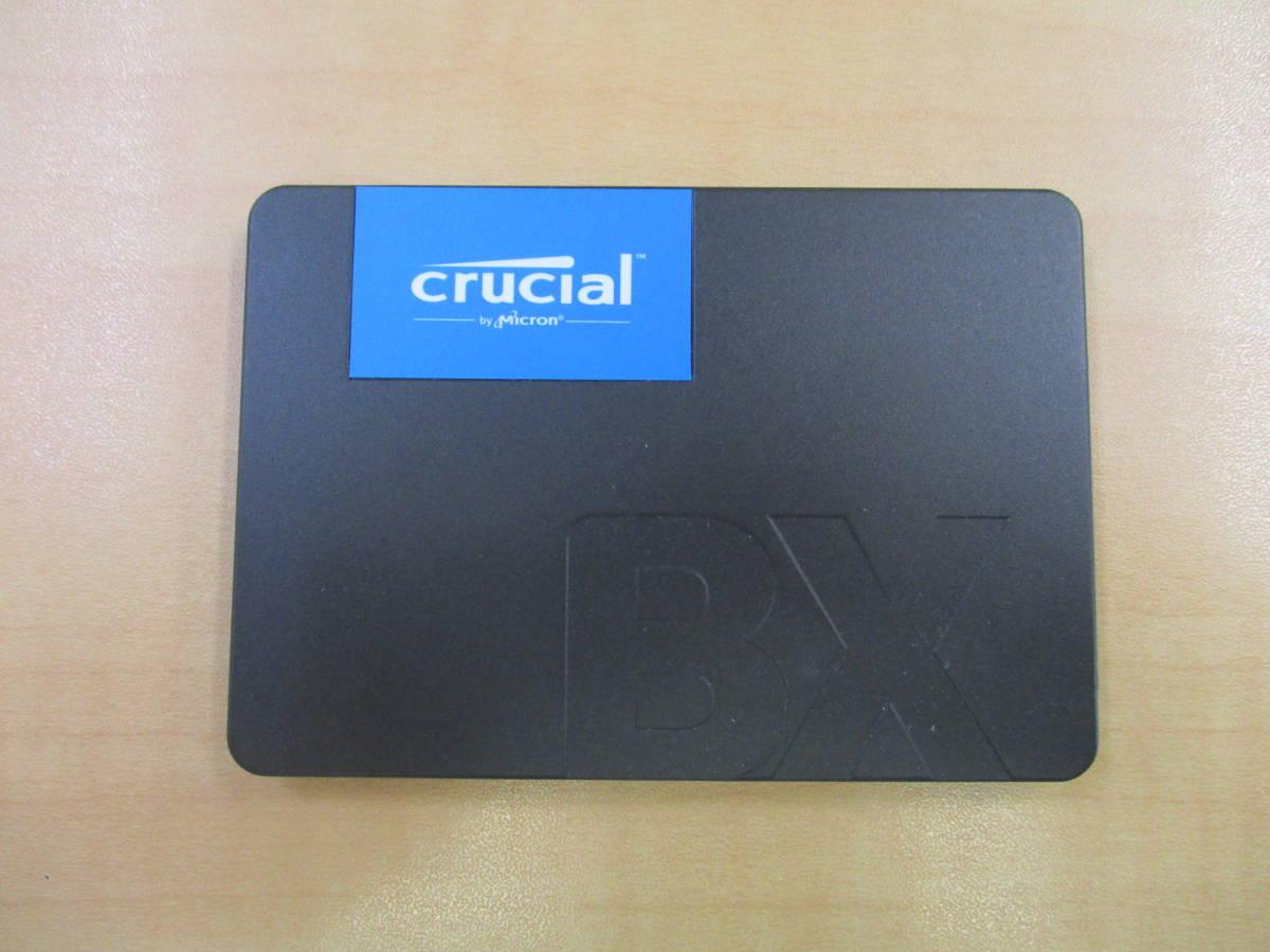 ★使用時間少★ SSD 240GB【正常動作品】 2.5インチ SATA crucial _画像3