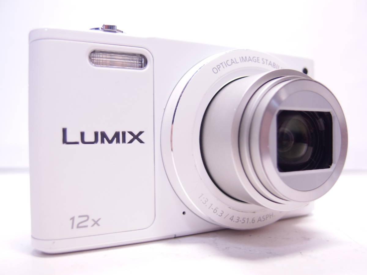 LUMIX DMC-SZ10 【1600万画素、光学12倍ズーム】 ホワイト 中古_画像2