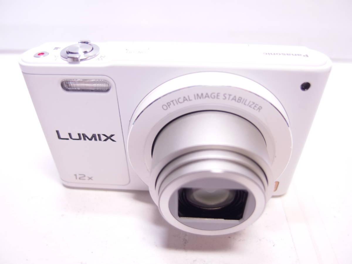 LUMIX DMC-SZ10 【1600万画素、光学12倍ズーム】 ホワイト 中古_画像3