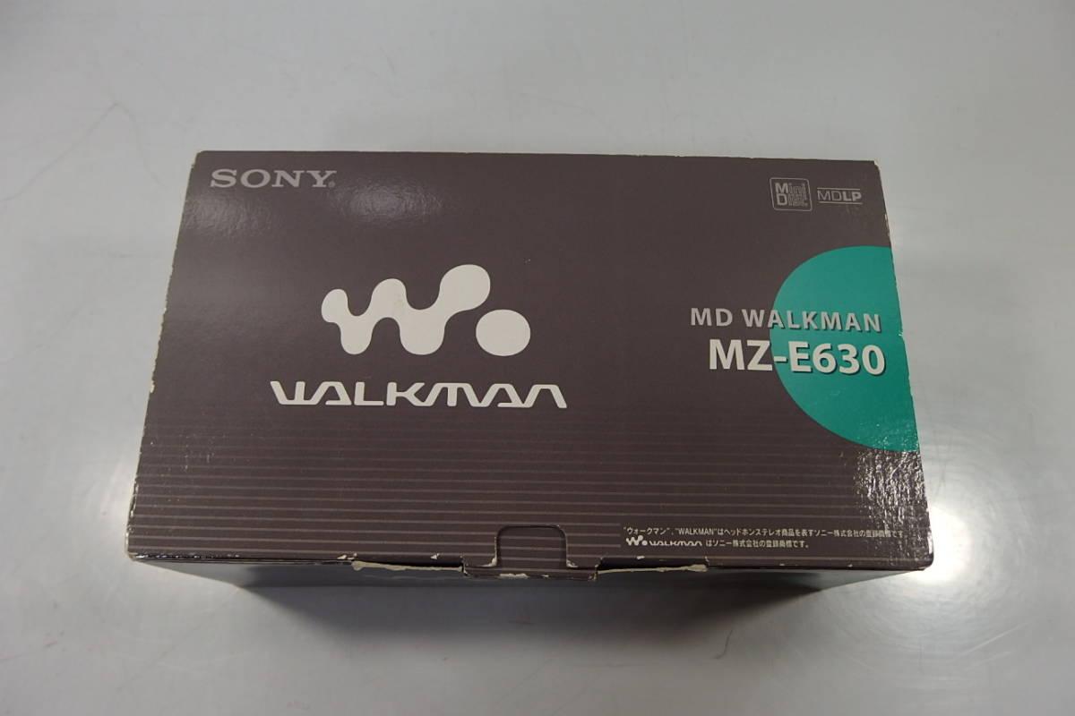 ◆新品未使用 SONY(ソニー) MDプレーヤー MDウォークマン MZ-E630 S(シルバー) MDLP対応高品質デジタルアンプ搭載_画像2