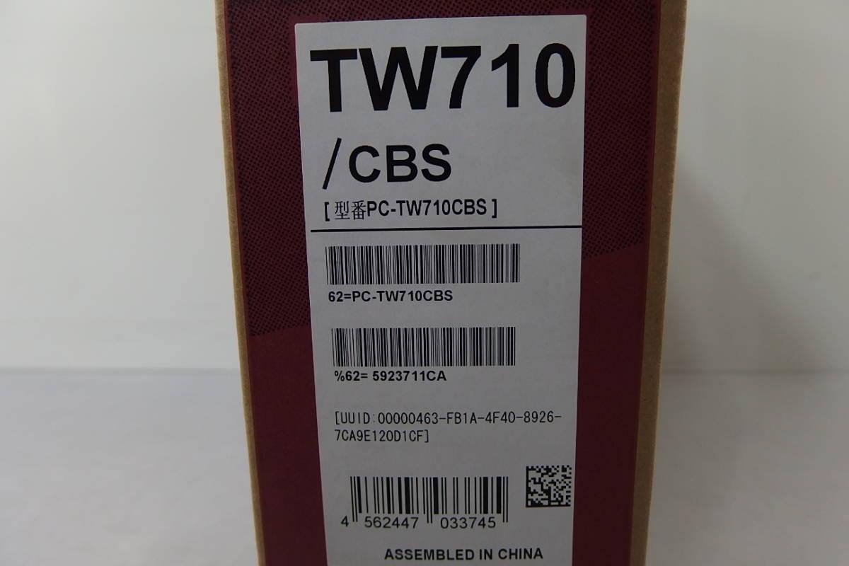 ◆未使用 NEC 10.1インチ タブレットPC LAVIE Tab W Win10/Atom x7-Z8700/メ4GB/64GB PC-TW710CBS Office付_画像3