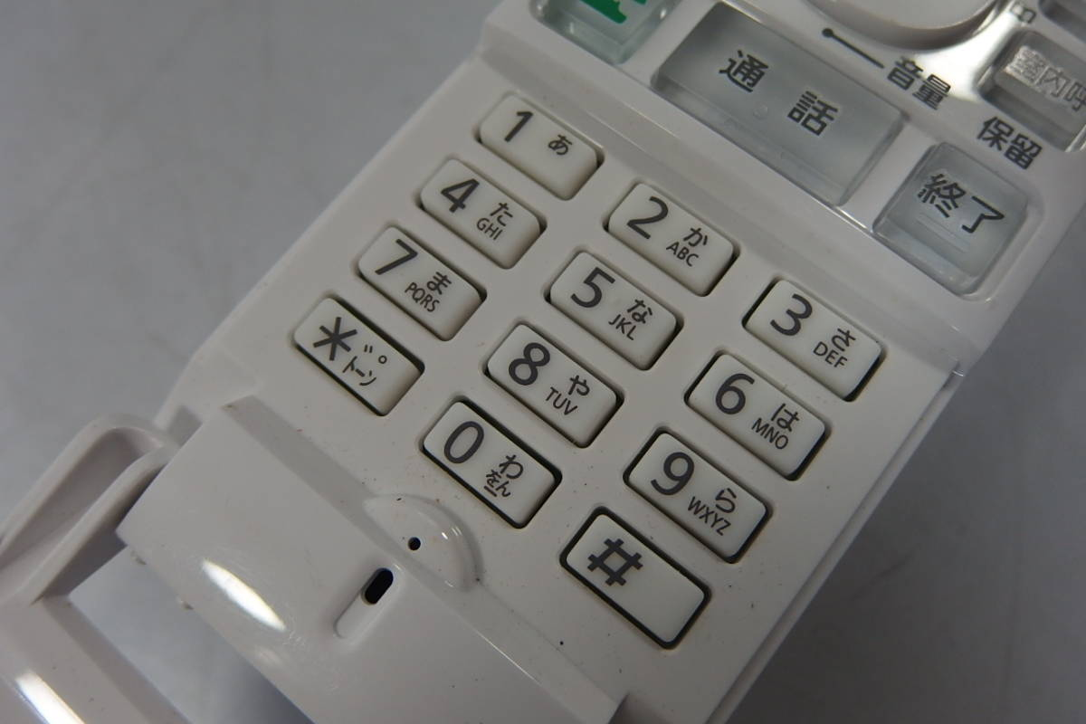 ◆Panasonic(パナソニック) ワイヤレスモニター子機 VL-WD612 無線どこでもドアホン増設子機 ワイヤレス子機_画像6